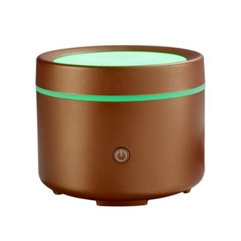 Liv Copper USB Travel Mood Lighting - Made By Zen Mini Ultrasonic Aromatherapy Diffuser